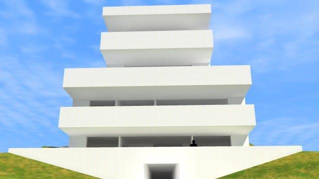 Torokvesz_115_lakohaz_modell_homlokzat