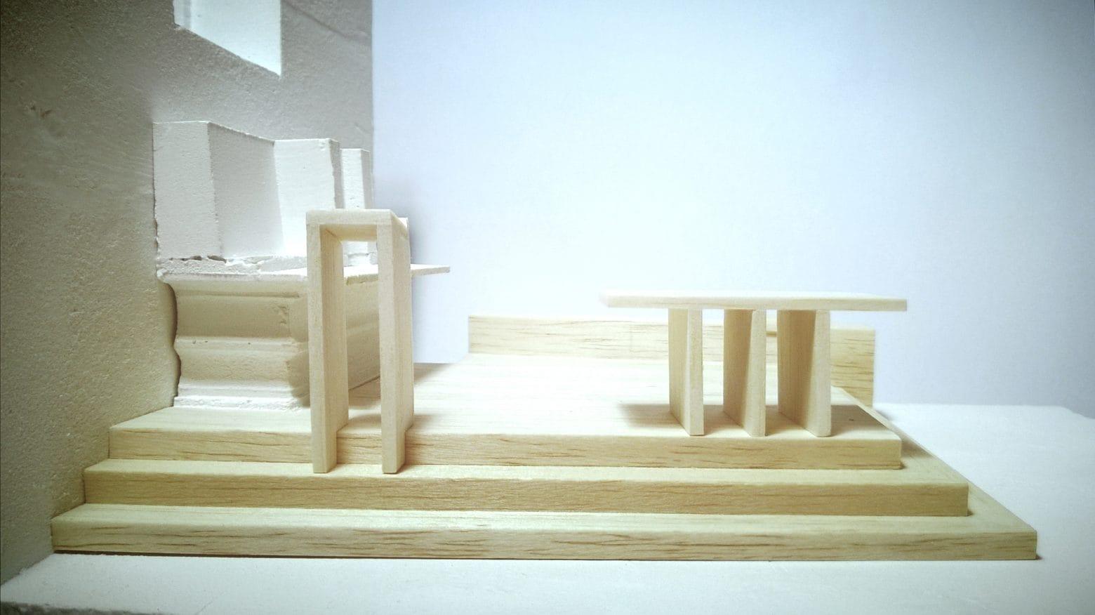 Bazilika_szent_jobb_kapolna oltar modell balza